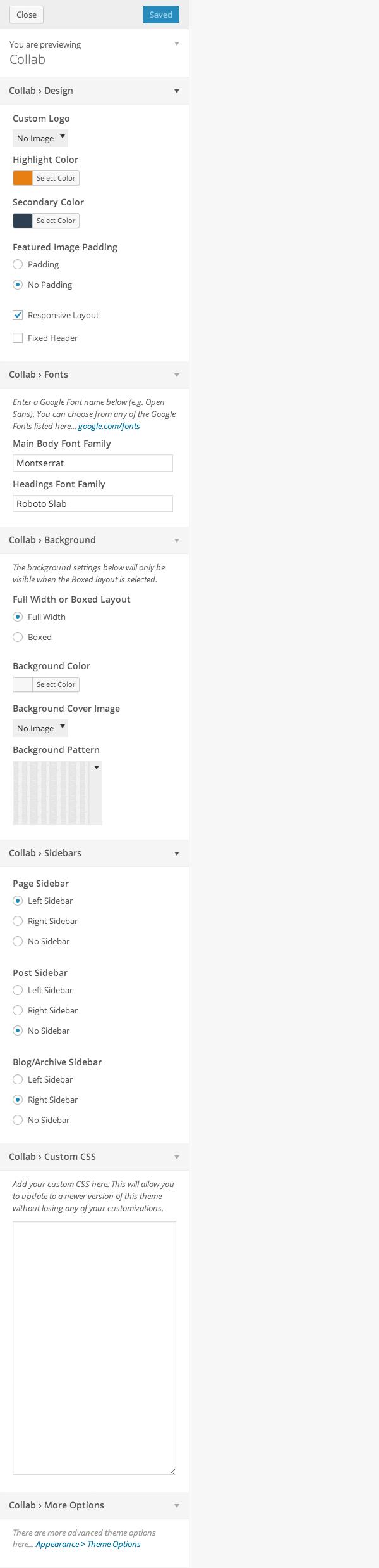 options-customizer