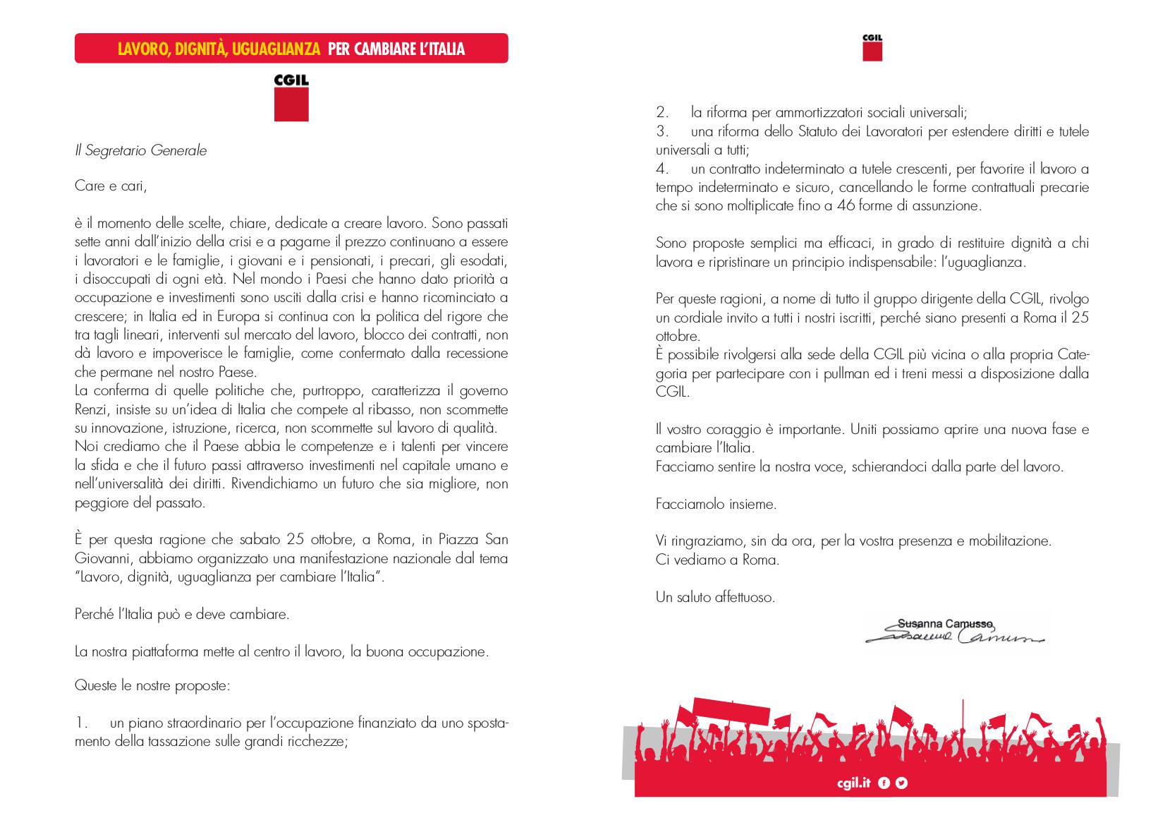 Lettera-Camusso-25ottobre2014